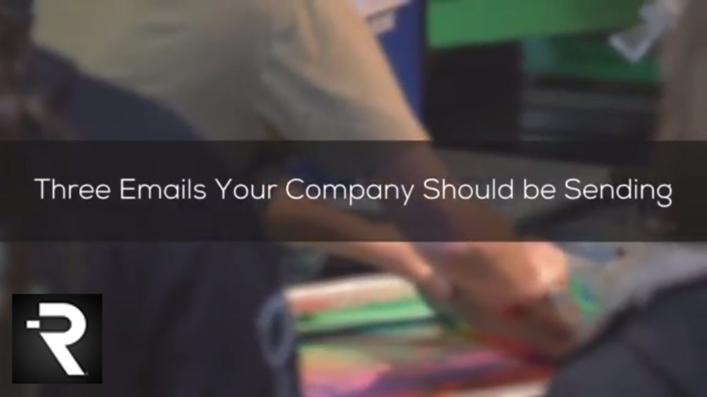 Three Marketing Emails You Should be Sending