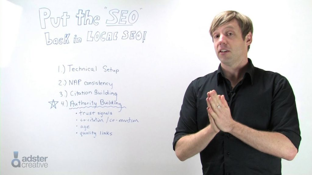 Time to put the 'SEO' back in Local SEO: Local Search Authority Building