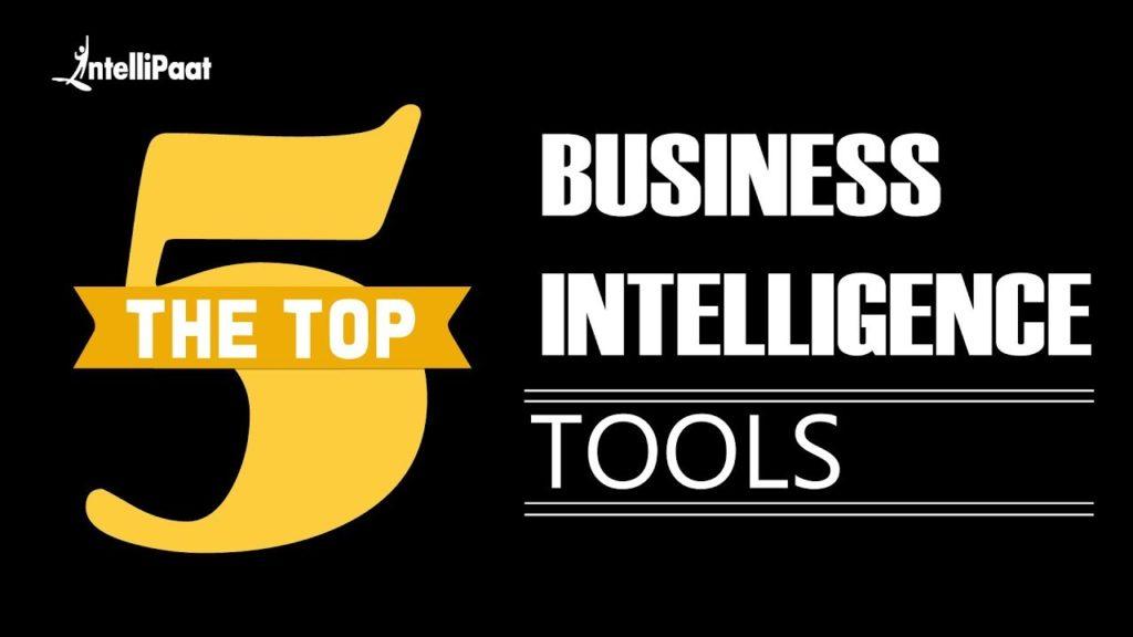 Top 5 BI Tools   Business Intelligence Tools   BI Tools   Intellipaat