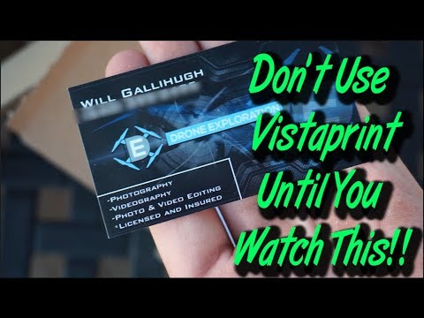 Vista Print Review **Watch Before You Buy!!**