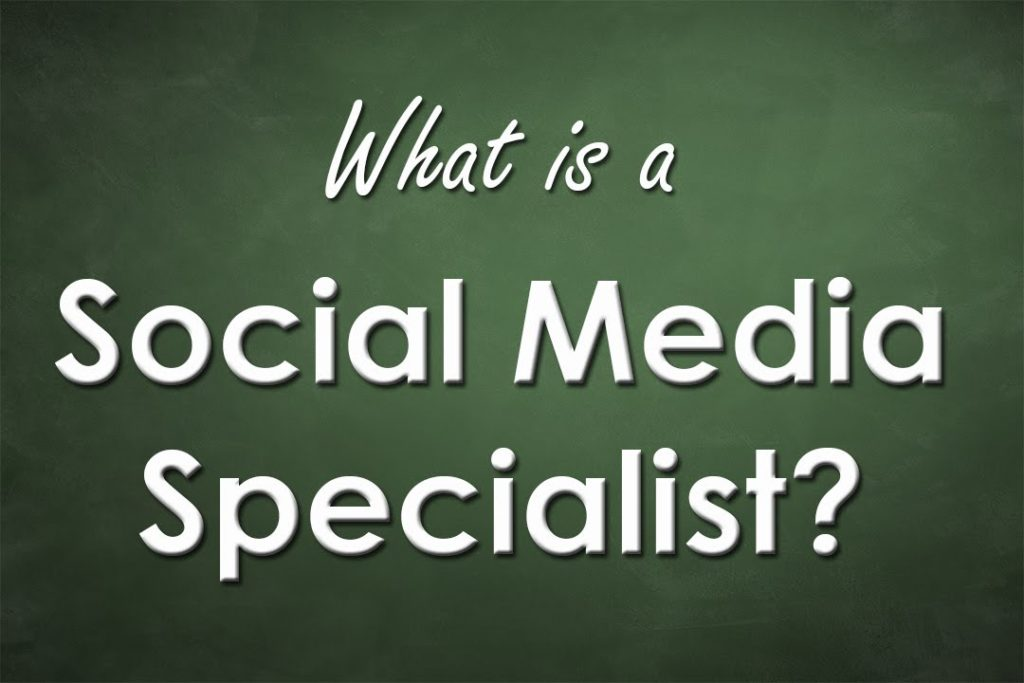 What exactly does a Social Media Specialist do?