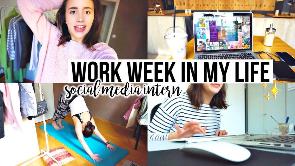 Work Week in my Life: working as a social media intern 💻