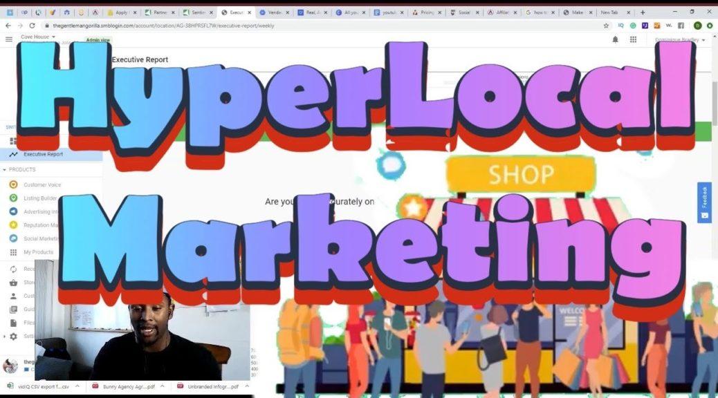 hyperLocal Marketing - local seo 2020