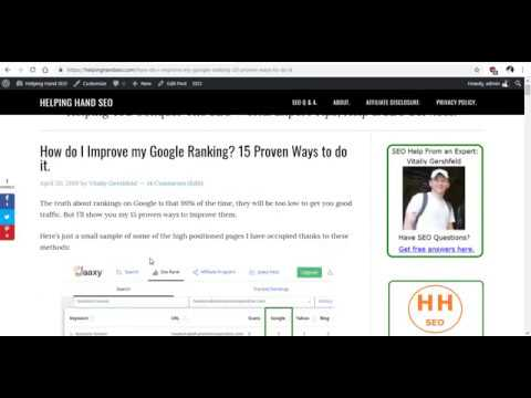 15 Powerful Ways to Improve Your Rankings & SEO on Google!