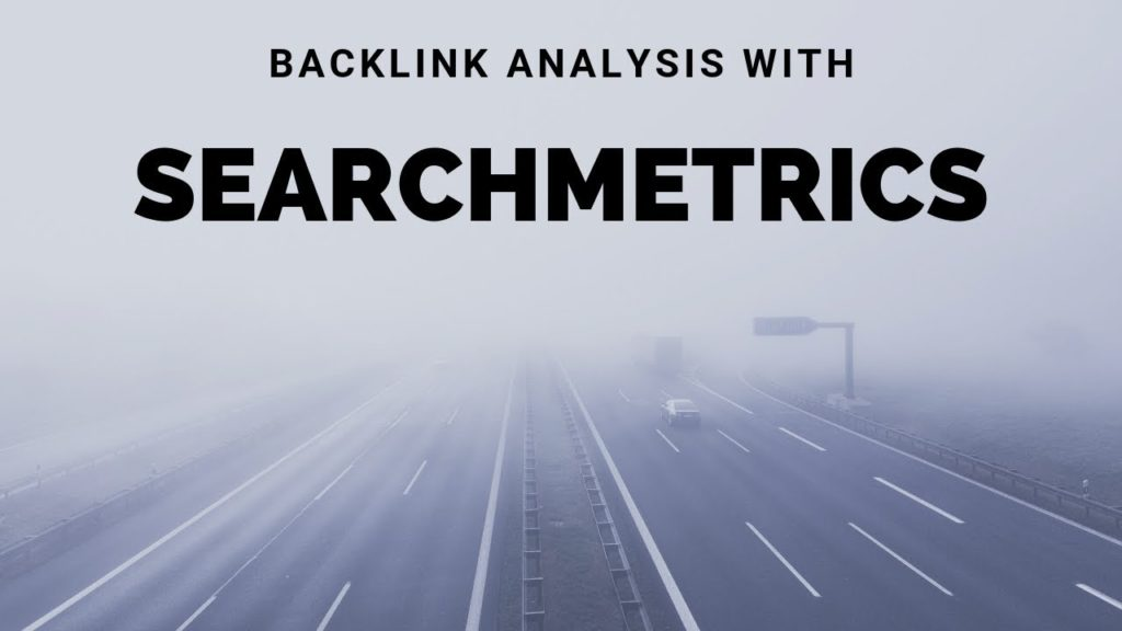 ⭐ Backlink Analysis with Searchmetrics Essentials