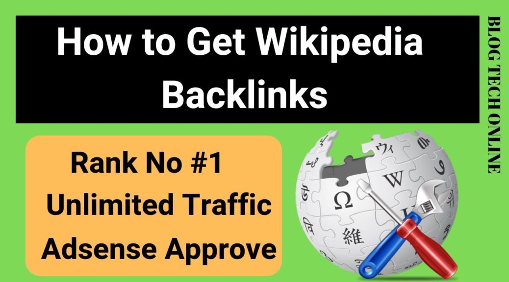 Backlinks:How to Get Wikipedia Backlinks Step by Step tutorial 2018-19