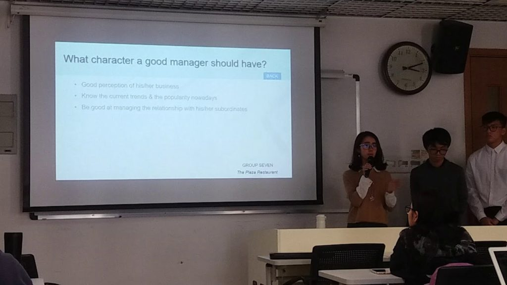Business Management presentation