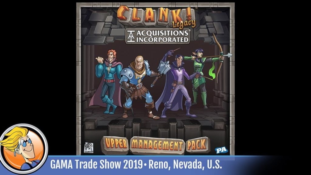Clank! Legacy: Acquisitions Incorporated – Upper Management Pack — game overview at GTS 2019