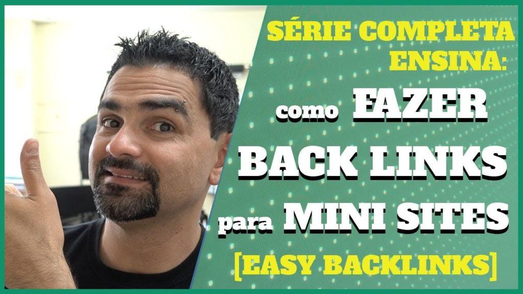 Como Fazer Backlinks Para Mini Sites? Easy Backlinks Class 💹