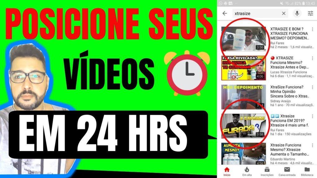 """▶️Como """"POSICIONAR"""" Vídeos no Youtube com BACKLINKS de Qualidade/GARANTIDO!"""