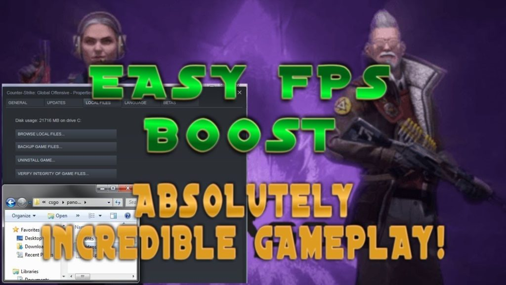 Easy FPS Boost for CSGO! Wow Check out this Absolutely Incredible Gameplay in CSGO OVERWATCH!