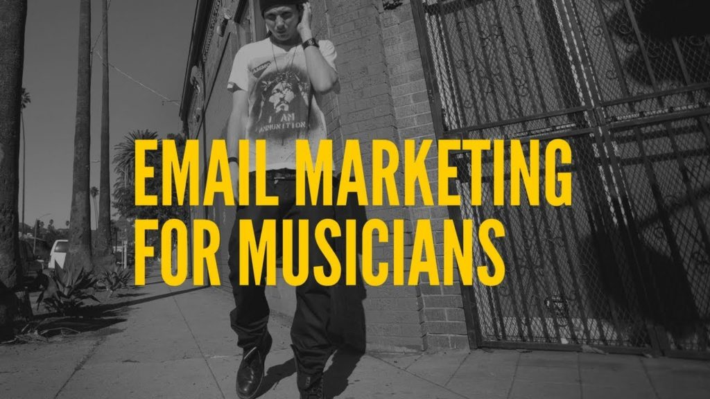 Email Marketing For Musicians | 4 Tips For Building An Email List