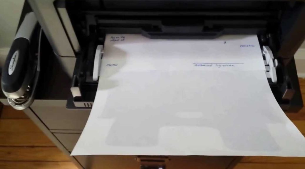 How to Print a Single Check from QuickBooks