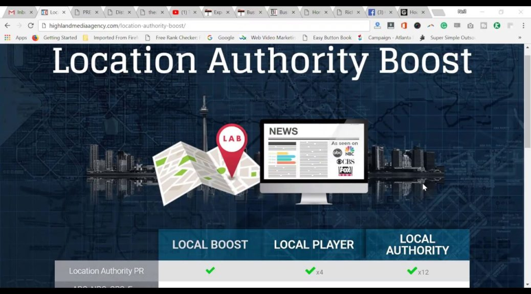 Location Authority Boost -How To Boost Your Local Google My Business Maps Listing With Authority