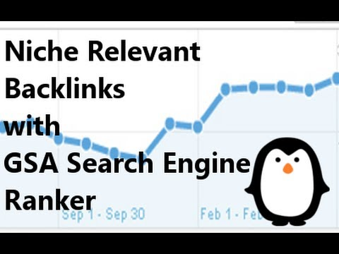 Niche Relevant Backlinks with GSA Search Engine Ranker