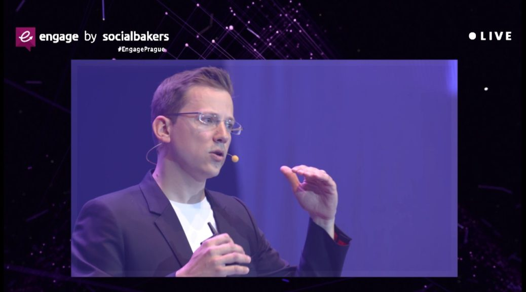 Social Media Trends Marketers Can't Miss - Jan Rezab, Socialbakers at #EngagePrague