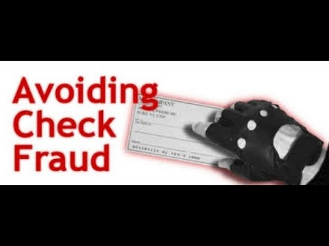 Tips To Avoid Personal and Business Check Fraud