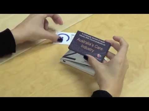 """Video Brochure  -- 2"""" LCD Business Card Size"""