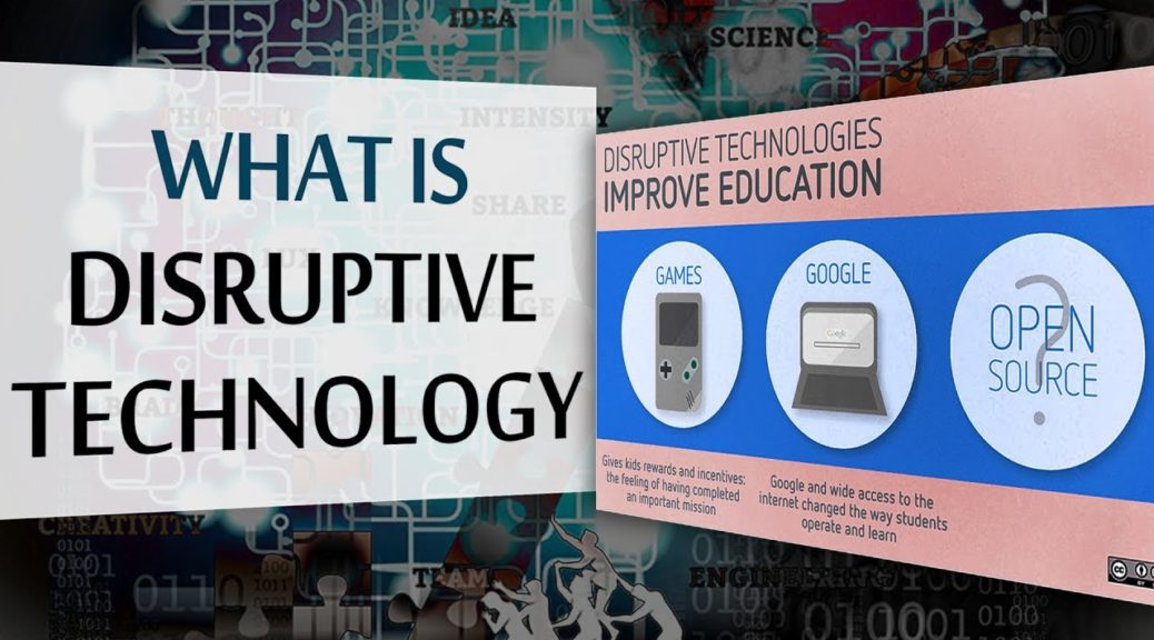 What is Disruptive Technology | 12 Disruptive Technology Examples | E-Learning