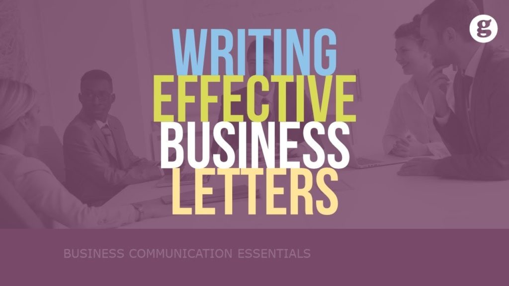 Writing Effective Business Letters