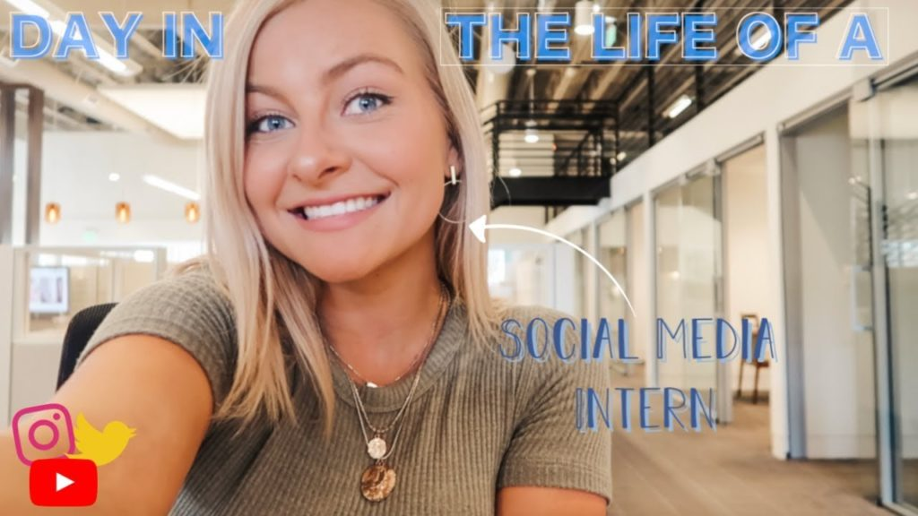 DAY IN THE LIFE OF A SOCIAL MEDIA INTERN〡GliddenSpina