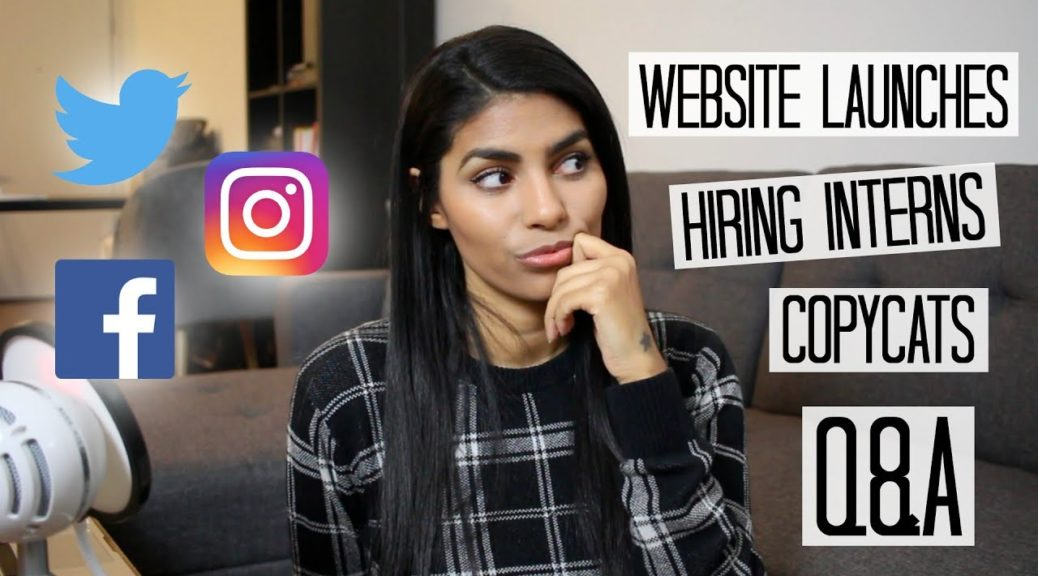 Social Media Manager Q&A: Website Launch Strategy, Interns, & Copycats