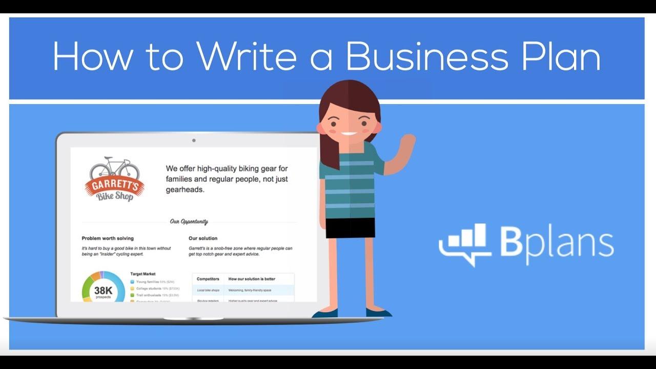 How to Write a Business Plan   Bplans.com