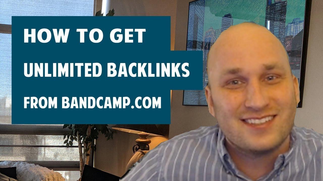 How to get PR 7 SEO backlinks from Bandcamp.com
